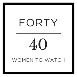 forty over 40 – forty women to watch over 40
